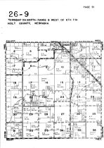 Township 26 North - Range 9 West, Ewing, Holt County 1948